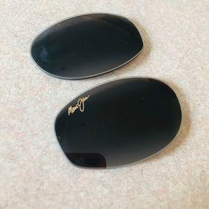 Maui Jim black lenses (broken frame included)